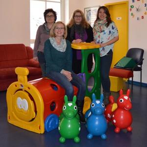 Das Team der Kinderarztpraxis Dr. Renner in Deggendorf